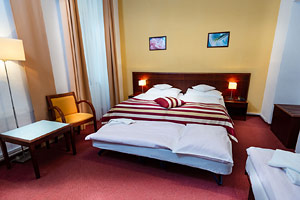 Hotel Petr Prague - Quadruple Room