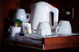 Hotel Petr Prague - Coffee and tea facilities